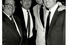Clive Jenkins, Neil Kinnock, Ken Gill and Rodney Bickerstaffe