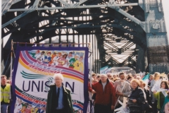 UNISON Rally & Demo Newcastle