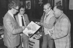 RKB in Truro [1984] with Ken Terry, Frank Huff and Eric Haines