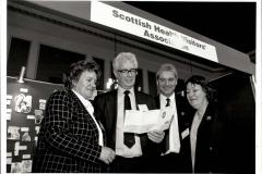 With Scottish Health Visitors Association