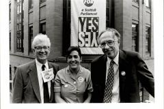 Scottish Devolution Referendum  with Donald Dewar