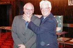 Showing his appreciation of John Stevenson December 2000