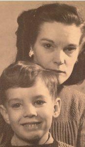 Pearl Bickerstaffe and Rodney 1949